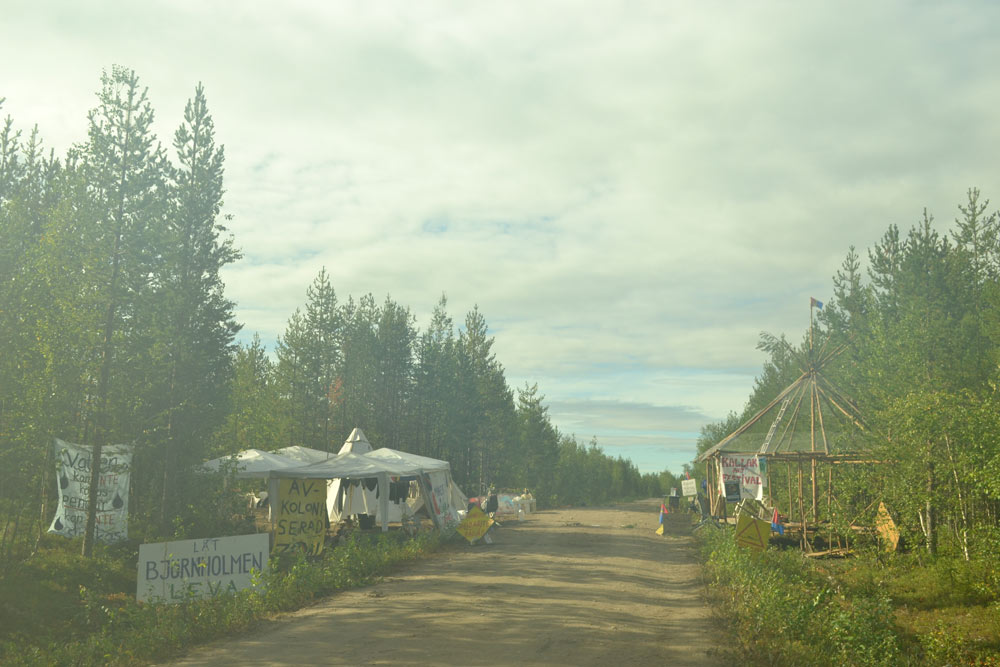 Morning picture of the camp 18/8 2013