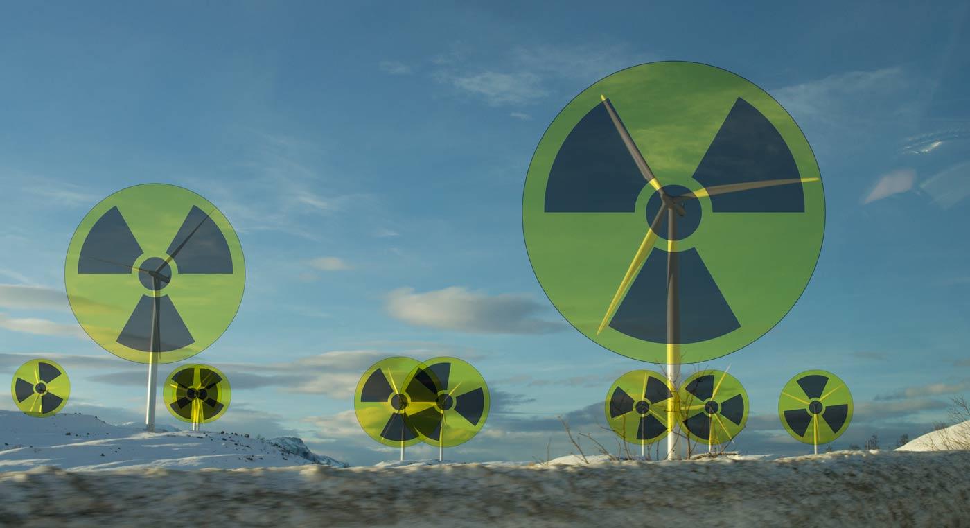 Radioaktiv-vindkraft
